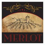 Vinyard Wine 1 Prints by Melody Hogan