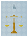 Libra Posters by Christian Jackson