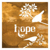 Warm Hope Prints by Melody Hogan