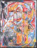 0 Through 9, 1961 Mounted Print by Jasper Johns