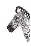 Lone Zebra Prints by Pam Varacek