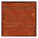 Psalms 118-24 Posters by Taylor Greene