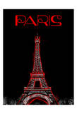 Paris Magazine Prints by  OnRei