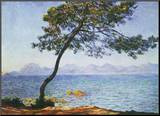 Antibes Mounted Print by Claude Monet