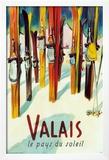 Valais Print by Herbert Libiszewski