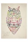 Owl Set 02 Prints by Melody Hogan