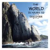 Discover The World Reprodukcje autor Sheldon Lewis