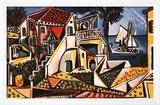 Paisagem mediterrânea Pôsters por Pablo Picasso