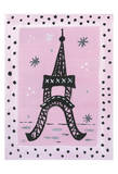Eiffel Polka Art by Tammy Hassett