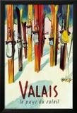 Valais Prints by Herbert Libiszewski