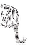 Lone Elephant Poster by Pam Varacek