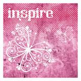 Pink Inspire Reprodukcje autor Melody Hogan