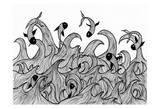 Wild Waters Affiches par Pam Varacek