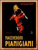 Maccheroni Pianigiani, 1922 Mounted Print by Achille Luciano Mauzan