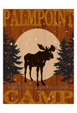 Cabin Camp Poster by Melody Hogan