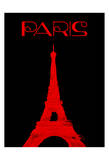 Paris Magazine Simple Print by  OnRei