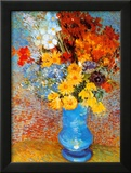 Vase of Flowers, c.1887 Posters by Vincent van Gogh