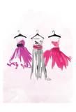3 Dresses Print by  OnRei