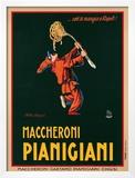 Maccheroni Pianigiani, 1922 Prints by Achille Luciano Mauzan