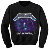 Crewneck Sweatshirt: Metallica - Ride the Lightning Shirt
