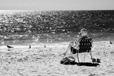 Solidary Reading by the Sea - Florida Photographic Print by Philippe Hugonnard