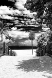 Boardwalk on the Beach - Miami - Florida - United States Photographic Print by Philippe Hugonnard