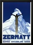 Zermatt Print by Pierre Kramer