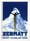 Zermatt Prints by Pierre Kramer