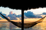 The Hammock at Sunset - Miami - Florida Photographic Print by Philippe Hugonnard