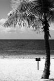 Miami Sign on the Beach - Florida Photographic Print by Philippe Hugonnard