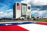The National Aeronautics and Space Administration Building - NASA - United States - USA Photographic Print by Philippe Hugonnard
