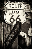 Route 66 US Photographic Print by Philippe Hugonnard