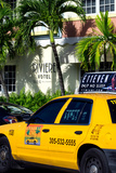 Yellow Cab of Miami Beach - Florida Photographic Print by Philippe Hugonnard