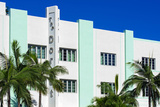 Art Deco Architecture of Miami Beach - South Beach - Florida Photographic Print by Philippe Hugonnard