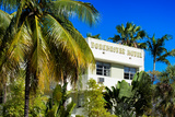 Art Deco Architecture of Miami Beach - Dorchester Hotel South Beach - Florida Photographic Print by Philippe Hugonnard