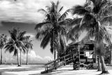 Life Guard Station - Miami Beach - Florida Photographic Print by Philippe Hugonnard