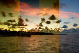 Triptych Collection - Sunrise to Key West - Florida Photographic Print by Philippe Hugonnard