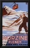 Morzine Prints by Bernard Villemot