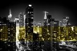 Manhattan Night Photographic Print by Philippe Hugonnard