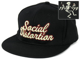 Social Distortion - 1979 Skelly Baseball Hat Lippalakki