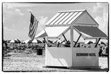 Private Beach Miami Beach - Richmond Hotel South Beach - Florida Photographic Print by Philippe Hugonnard