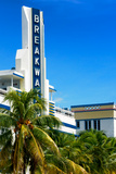 Art Deco Architecture of Miami Beach - The Esplendor Hotel Breakwater South Beach - Ocean Drive Photographic Print by Philippe Hugonnard