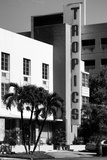 Art Deco Architecture of Miami Beach - The Tropics Hotel - Florida Photographic Print by Philippe Hugonnard