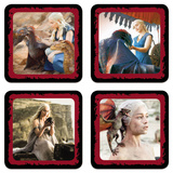 Game of Thrones - Daenerys Coaster Set Coaster