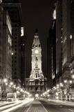 Philadelphia City Fotografisk tryk af Philippe Hugonnard