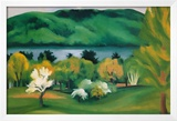 Lake George, Early Moonrise Spring, 1930 Prints by Georgia O'Keeffe