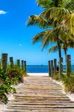 Boardwalk on the Beach - Key West - Florida Photographic Print by Philippe Hugonnard
