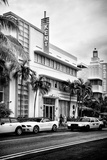 Art Deco Architecture with Yellow Cab - Miami Beach - Florida Photographic Print by Philippe Hugonnard