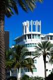 Art Deco Architecture of Miami Beach - The Albion Hotel - Florida Photographic Print by Philippe Hugonnard