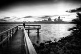 Pier at Sunset Papier Photo par Philippe Hugonnard